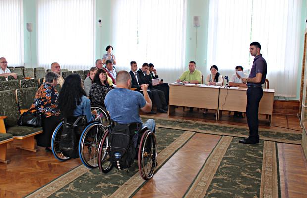 Засідання комітету доступності