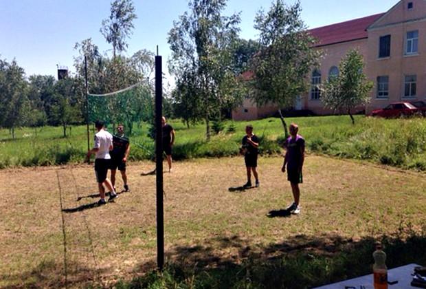 В Кам'яній до Дня молоді провели спортивні ігри