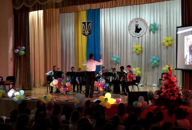"""Випускний бал учнів музичної школи в """"Юності Підгір'я"""""""