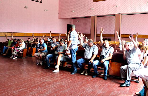 Великокучурівські учасники АТО вирішили створити свою спілку