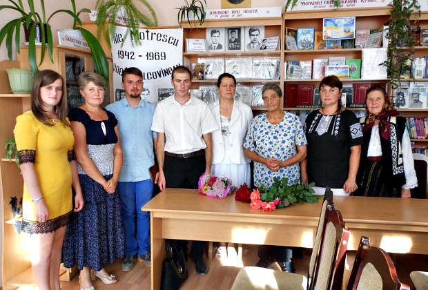 В Красноїльську відбувся вечір споминів до ювілея Іллі Мотреску