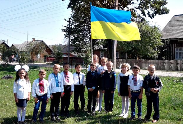 """Урок патріотизму """"З Україною в серці!"""" в Банилові-Підгірному"""