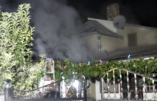 Пожежа по вул. Реутова в Сторожинці