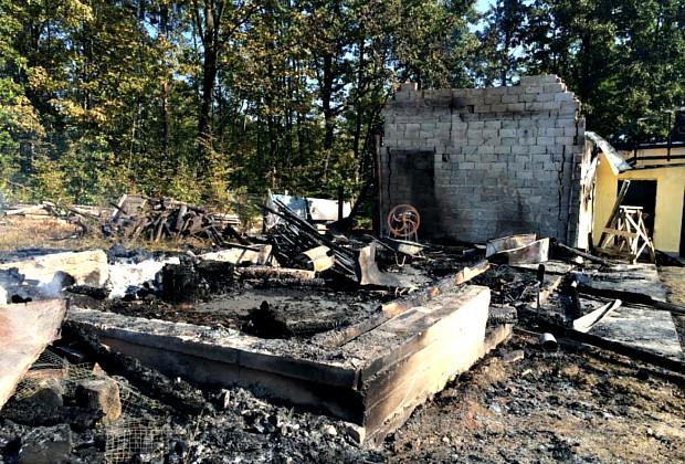 Минулої ночі в районі сталося дві пожежі