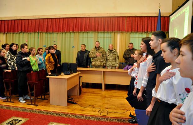 Урочистим заходом відзначили День захисника України в школі-інтернат