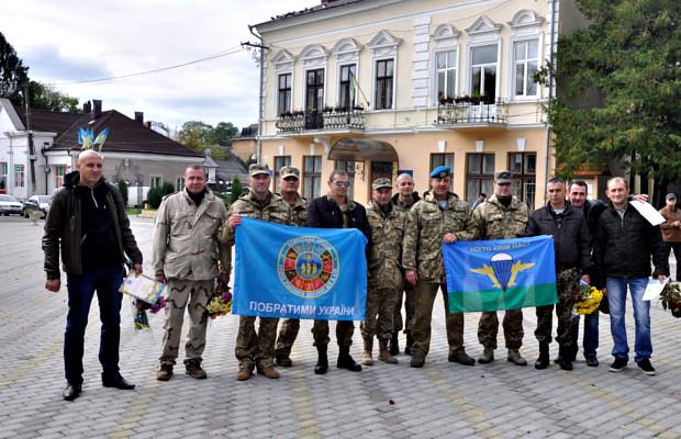 В Сторожинці урочисто відзначили День захисника України