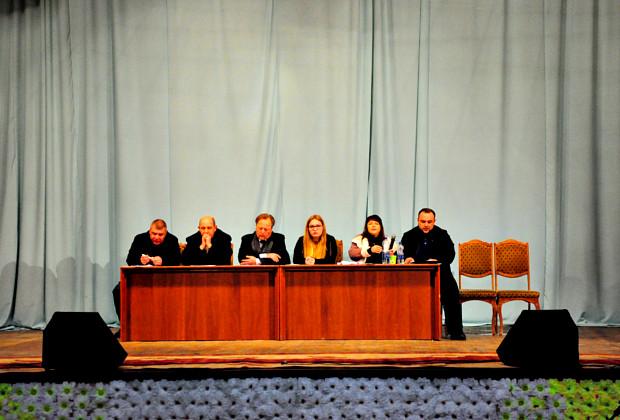 Зустріч кандидатів на голову та у депутати громади з виборцями