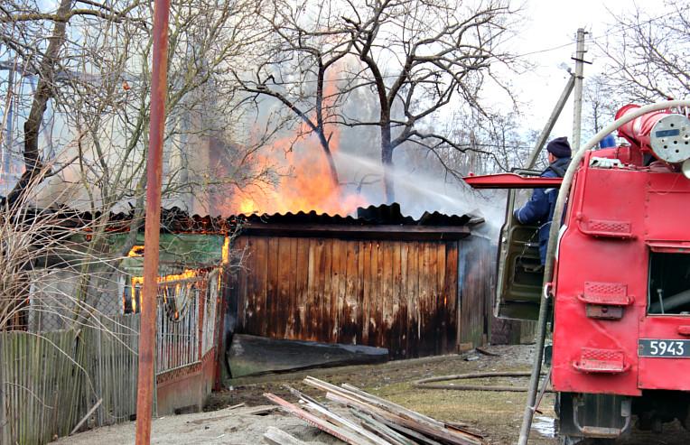 Пожежа по вул. Київській