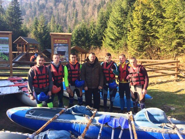 Змагання з водного туризму