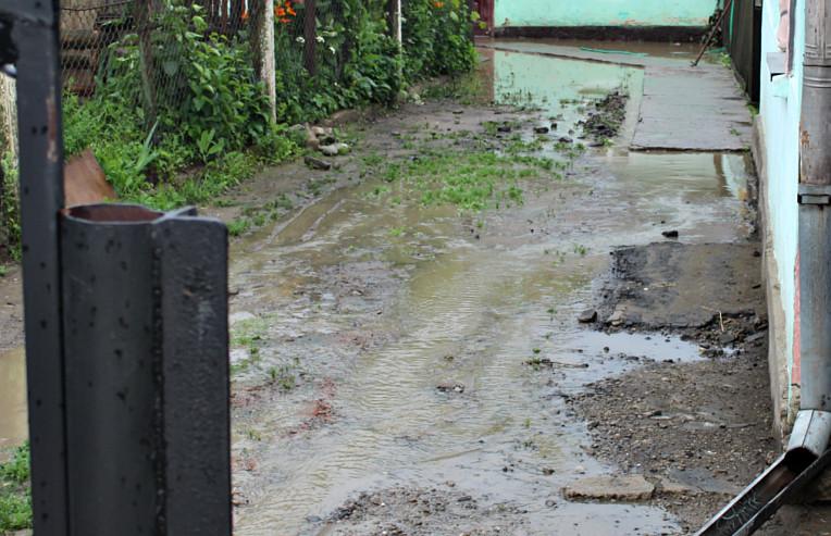 Затоплення подвір'я