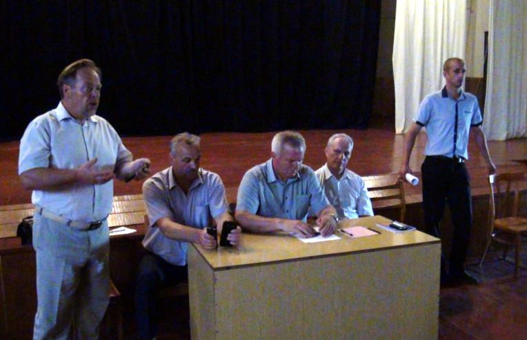 Збори в Старій Жадові