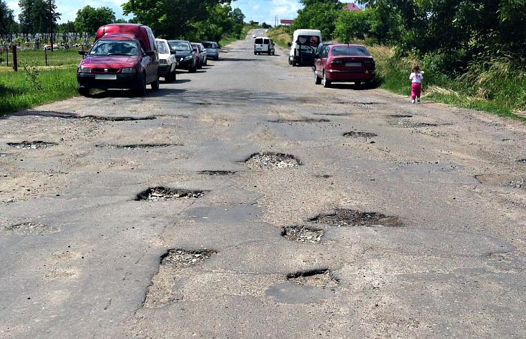 Дороги в Великому Кучурові
