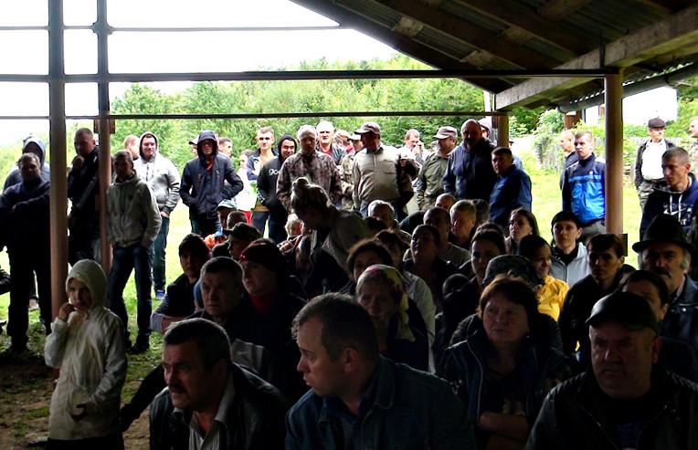 Сходка села Банилів-Підгірний