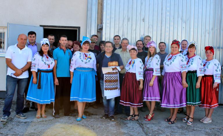 Привітали бізнесменів села