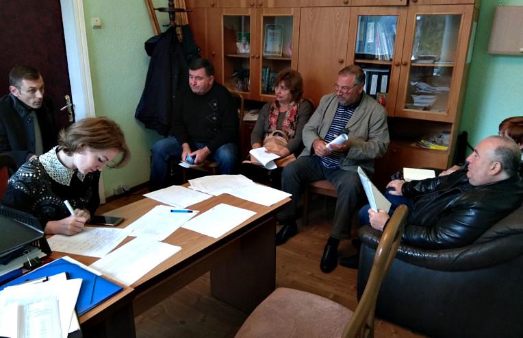 Засідання комісії по оптимізації штатів