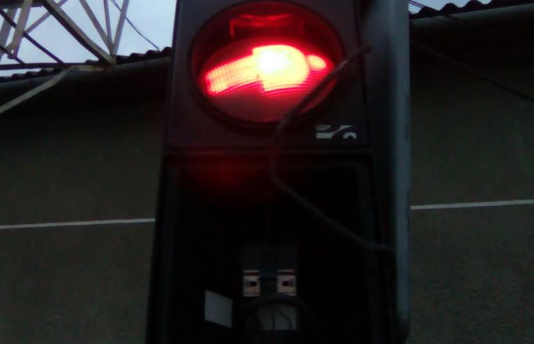 Понищили світлофори