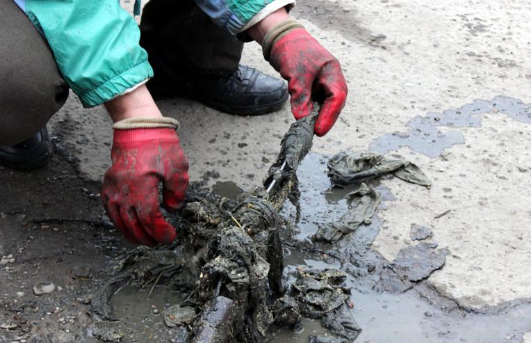 Причина забитої каналізації