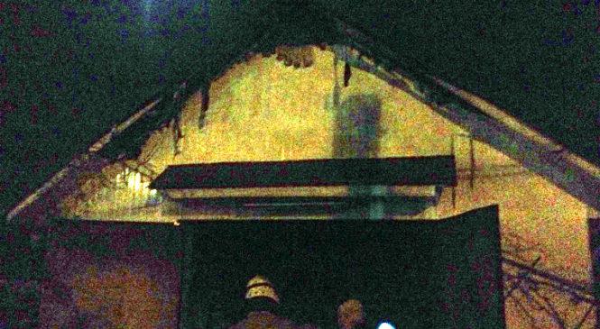 В Сторожинці горів гараж приватного господарства