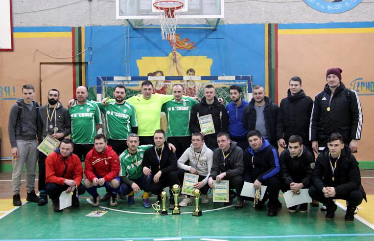 Чемпіони району з міні-футболу