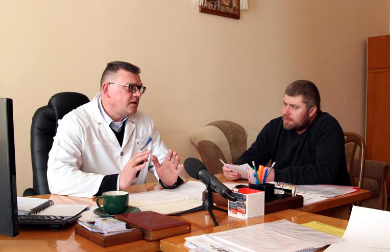 Інтерв'ю з головним лікарем Сторожинецької ЦРЛ