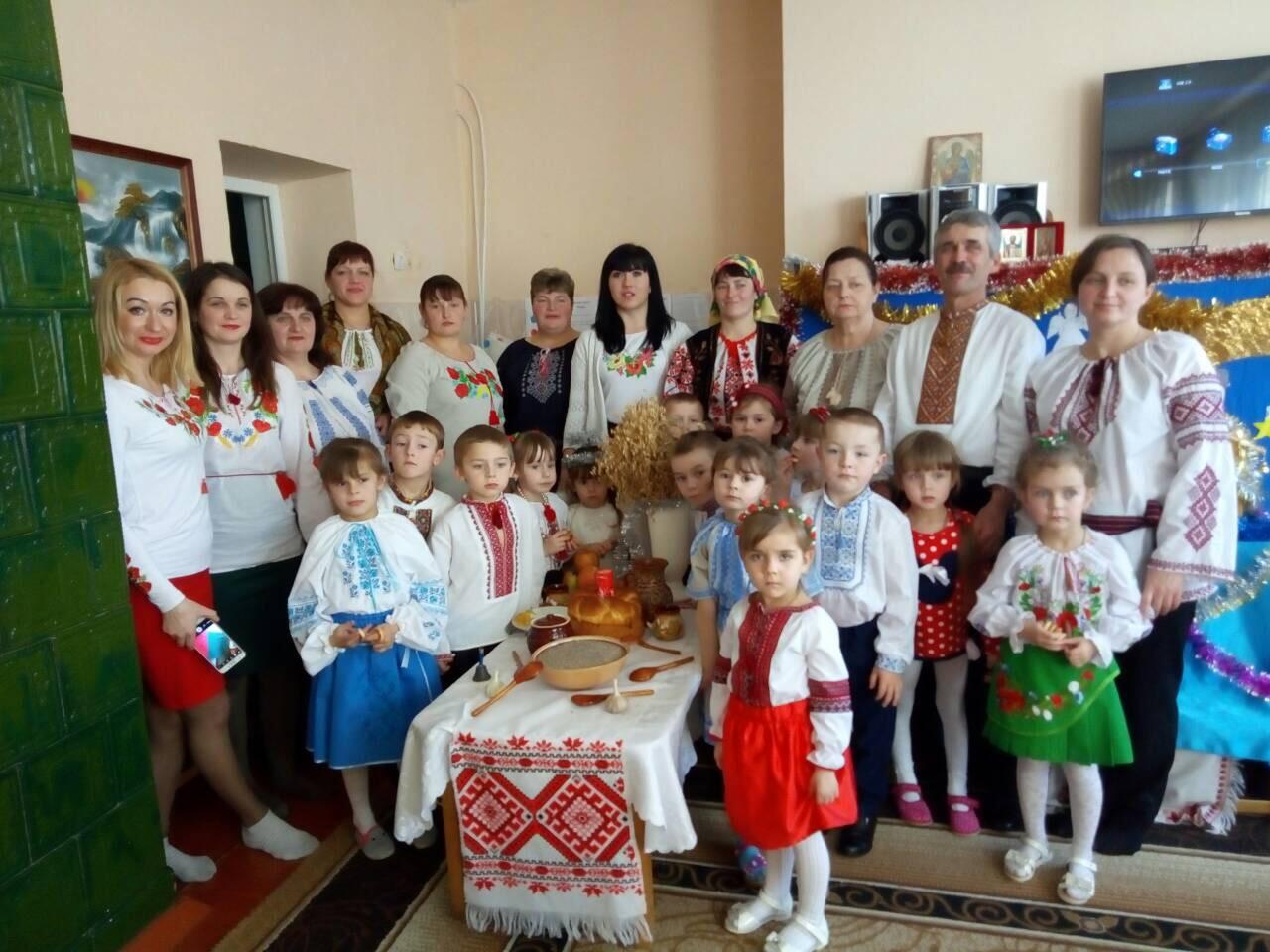 "Різдвяні свята в ДНЗ ""Колобок"""