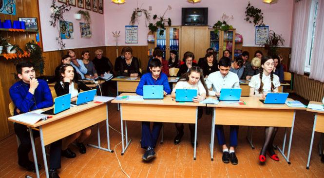 У Костинецькому НВК провели відкриті уроки для вчителів математики Сторожинецької громади