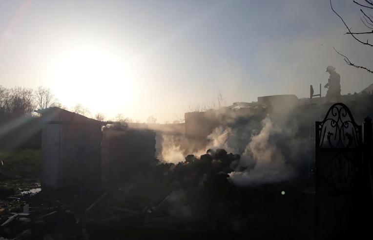 Пожежі в районі