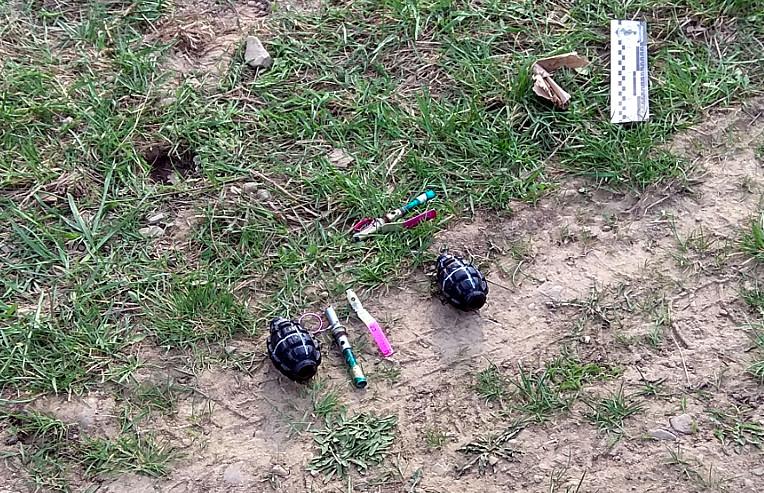 Дві гранати знайшли у Сторожинці (ФОТО)