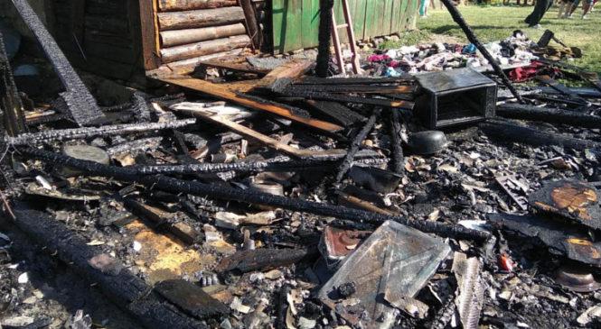 У Верхніх Петрівцях вогонь знищив літню кухню та пошкодив житловий будинок