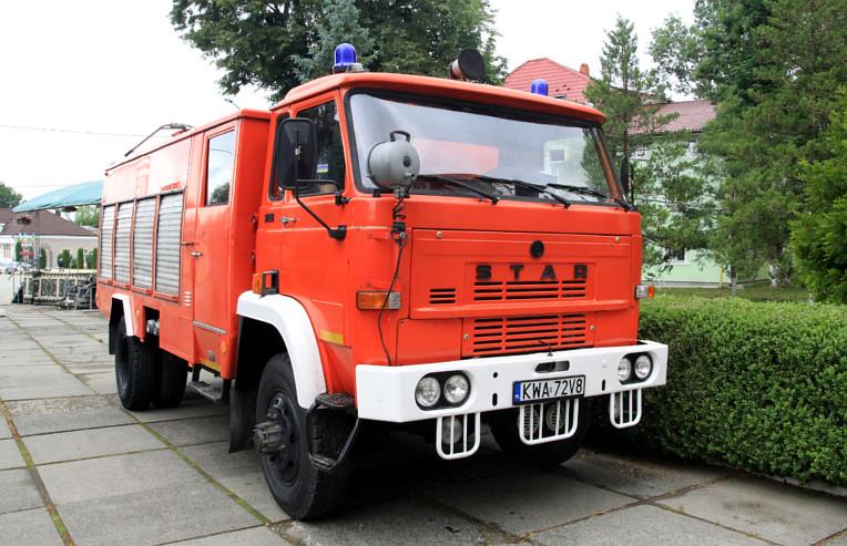 Новий пожежний автомобіль