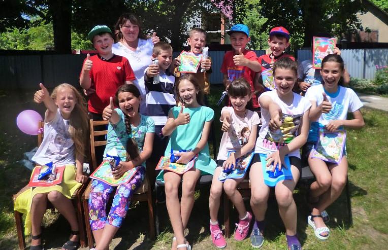 День захисту дітей у Слободі-Комарівцях