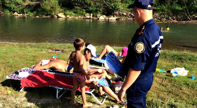 Рятувальники застерігають бути обережними під час відпочинку біля водойм