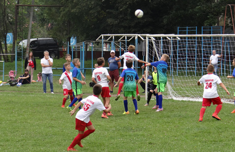 Міжрайонний дитячий турнір з футболу