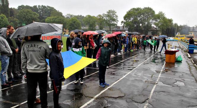 В Сторожинці відбувся фінал Сільських спортивних ігор та урочистості з нагоди Дня фізичної культури та спорту