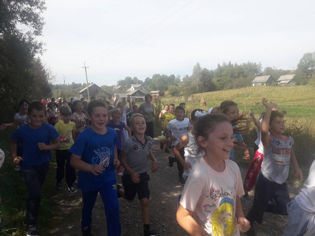 Біговий марафон у Давидівці