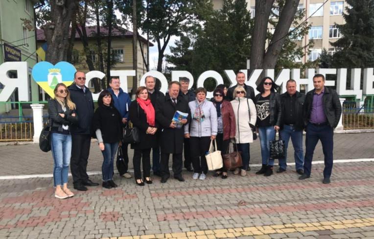 Відвідини Сторожинця делегатами з чотирьох областей