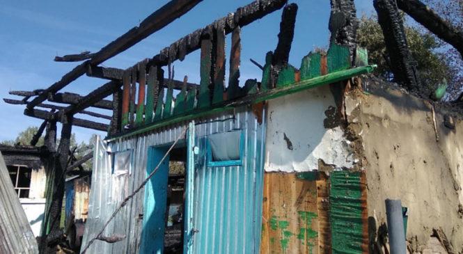 Пожежу у житловому будинку в Їжівцях гасили п'ять екіпажів рятувальників