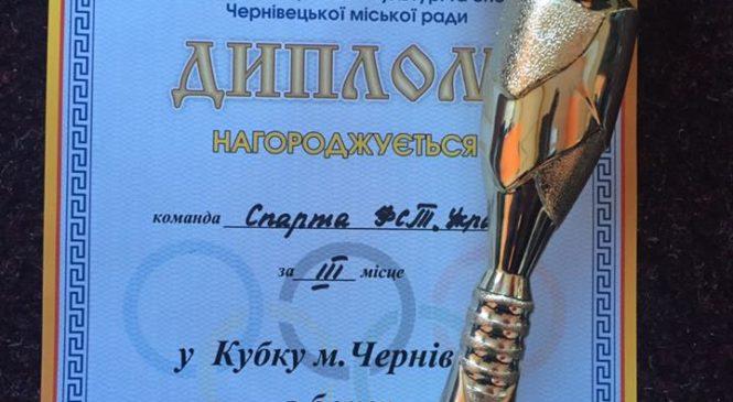 Спортсмени з Великого Кучурова взяли призове місце на Кубку Чернівців з боксу