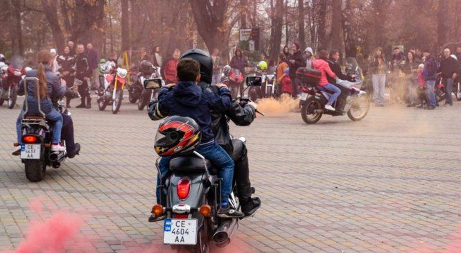 Буковинські байкери вручили подарунки для Сторожинецького інклюзивно-ресурсного центру. Фото