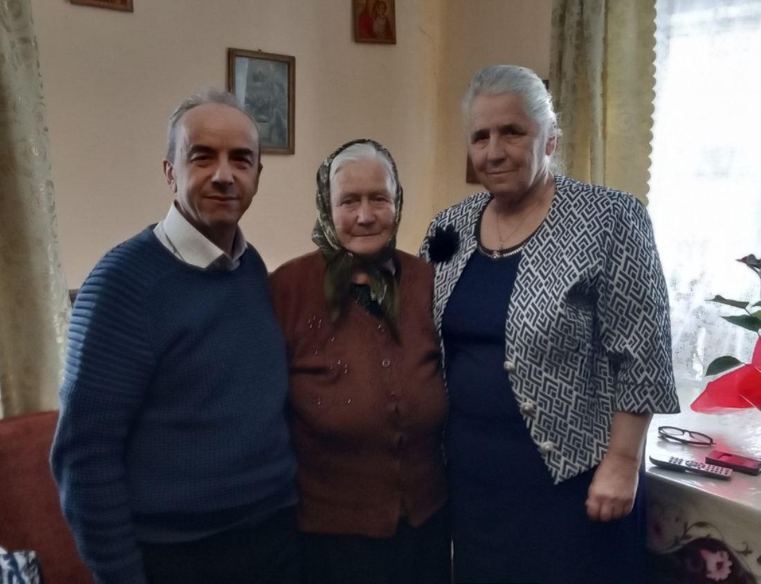 Вшанування довгожителя села