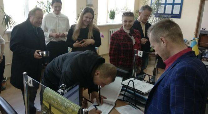 У Сторожинецькому ЦНАПі видали перше свідоцтво про народження