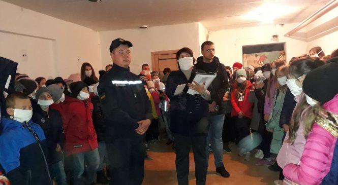 У Панківському НВК провели навчання з цивільного захисту
