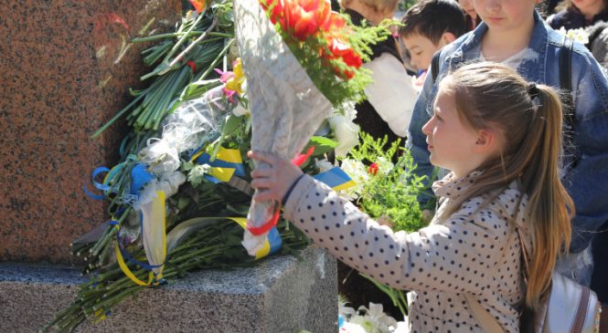 У Сторожинці відбулися урочистості з нагоди Дня Перемоги над нацизмом у Європі. Фото