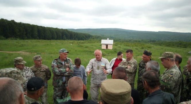 """Сторожинецький батальйон територіальної оборони пройшов навчання на """"Прибані"""""""