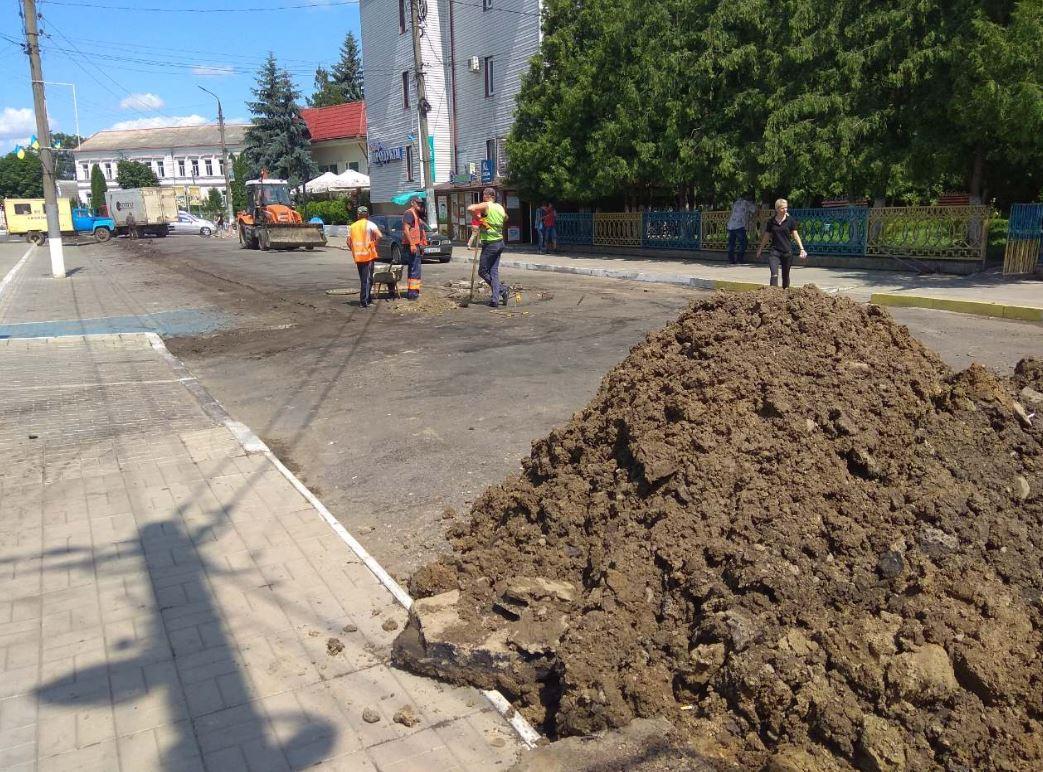 Ремонт вулиці Грушевського