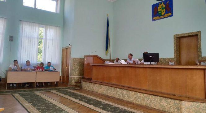XXXIII сесія VI скликання Сторожинецької міської ради