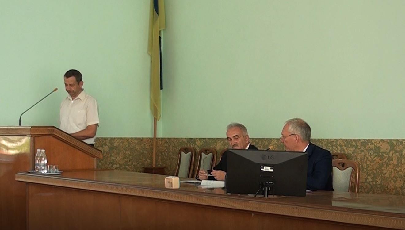 Позачергова сесія районної ради