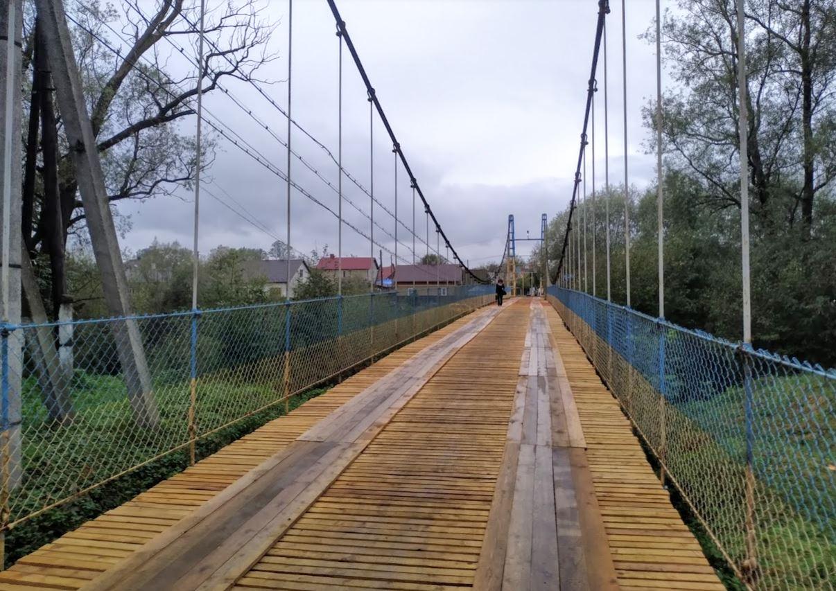 Ремонт моста через Сірет