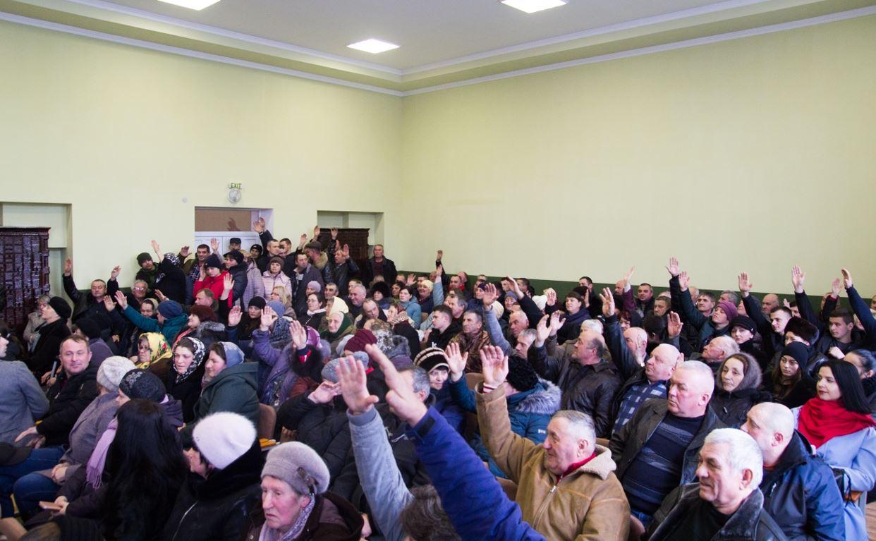 Збори села Буденець