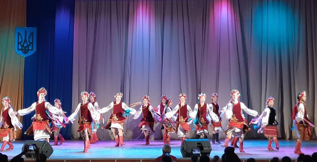 Конкурс народного танцю